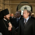 President Vladimir Putin Visits the Russian Orthodox Cathedral in Vienna