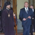 Russian President Visits Hungarian Orthodox Cathedral
