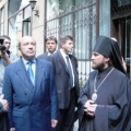 Russian Foreign Minister Visited Hungarian Orthodox Cathedral