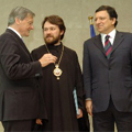 European Commission President J.M.Barroso and Austrian Chancellor W.Schussel Meet with Religious Leaders