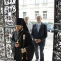Austrian Parliament President visited Orthodox Cathedral in Vienna